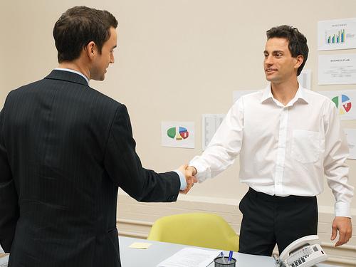 photo credit: Businessmen shaking hands via photopin (license)
