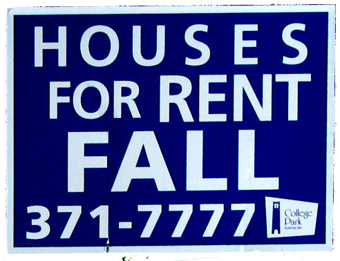 photo credit: Rented Houses Fall Sign via photopin (license)