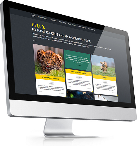 photo credit: Streak - Responsive WordPress Theme - iMac 3 via photopin (license)